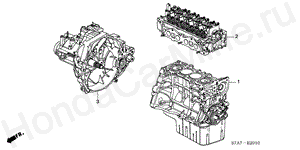 E-20-10 ENGINE ASSY./ TRANSMISSION ASSY. (1.7L)