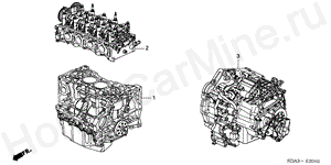 E-20-10 ENGINE ASSY./TRANSMISSION  ASSY.