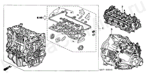 E-50-10 ENGINE ASSY./TRANSMISSION  ASSY. (DIESEL)
