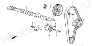 E-11 CAMSHAFT/TIMING BELT
