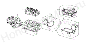 E-20 GASKET KIT/ TRANSMISSION ASSY.