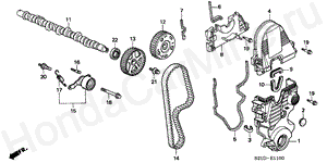 E-11 CAMSHAFT/TIMING BELT (1)