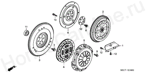 E-18 FLYWHEEL
